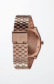 Time Teller Rose Gold Watch