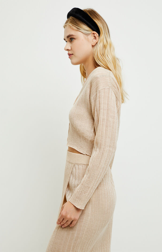 Embracing Me Lurex Ribbed Sweater