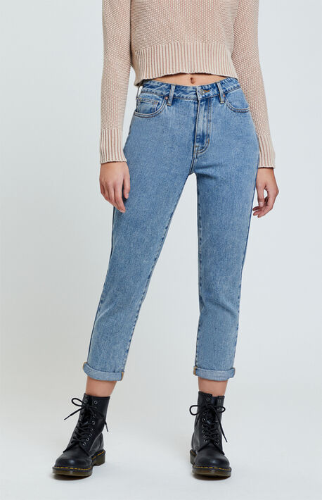 Lexie Blue Mom Jeans