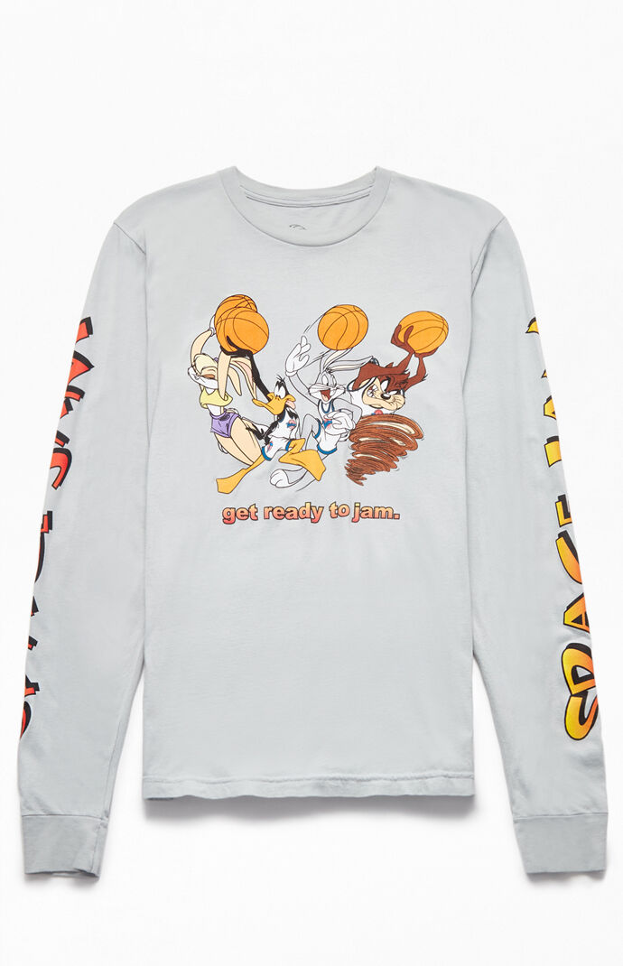 Space Jam Long Sleeve T Shirt Pacsun