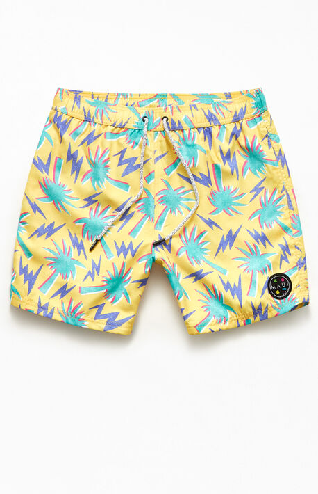 "Beachin' 17"" Swim Trunks"