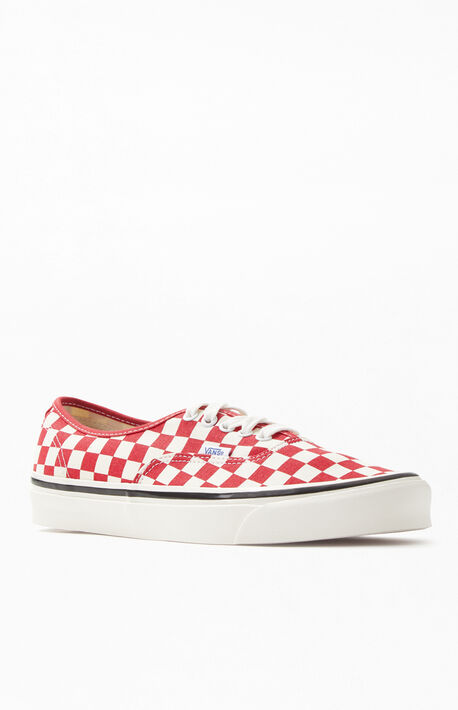 059190b843fb66 Red Checker Anaheim Factory Authentic 44 DX Shoes