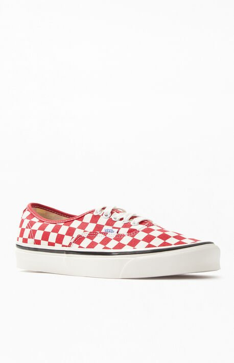 1582b9022185 Red Checker Anaheim Factory Authentic 44 DX Shoes