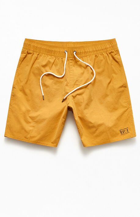 "Opposites Elastic II 17"" Swim Trunks"