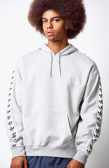 TNT Tape Heather Grey Pullover Hoodie
