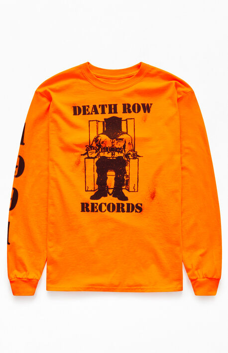 5d438a7b981d Orange Death Row Long Sleeve T-Shirt