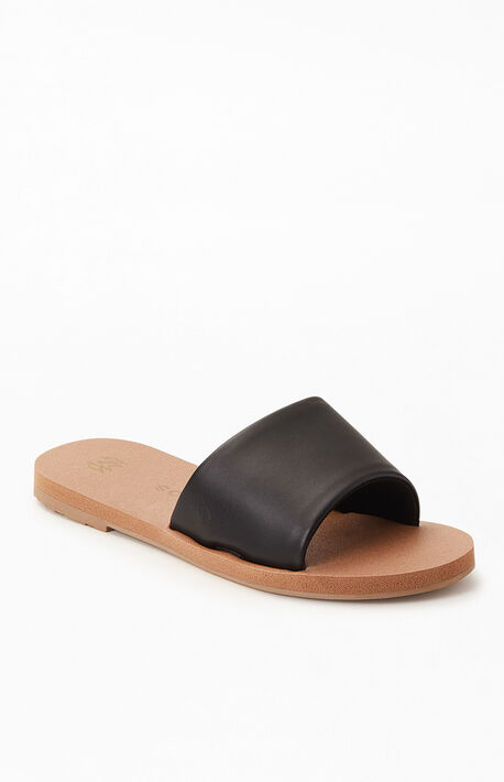 Women's Ellie Noir Slide Sandals
