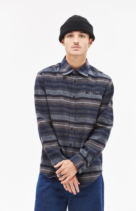 Dawson Stripe Flannel Shirt