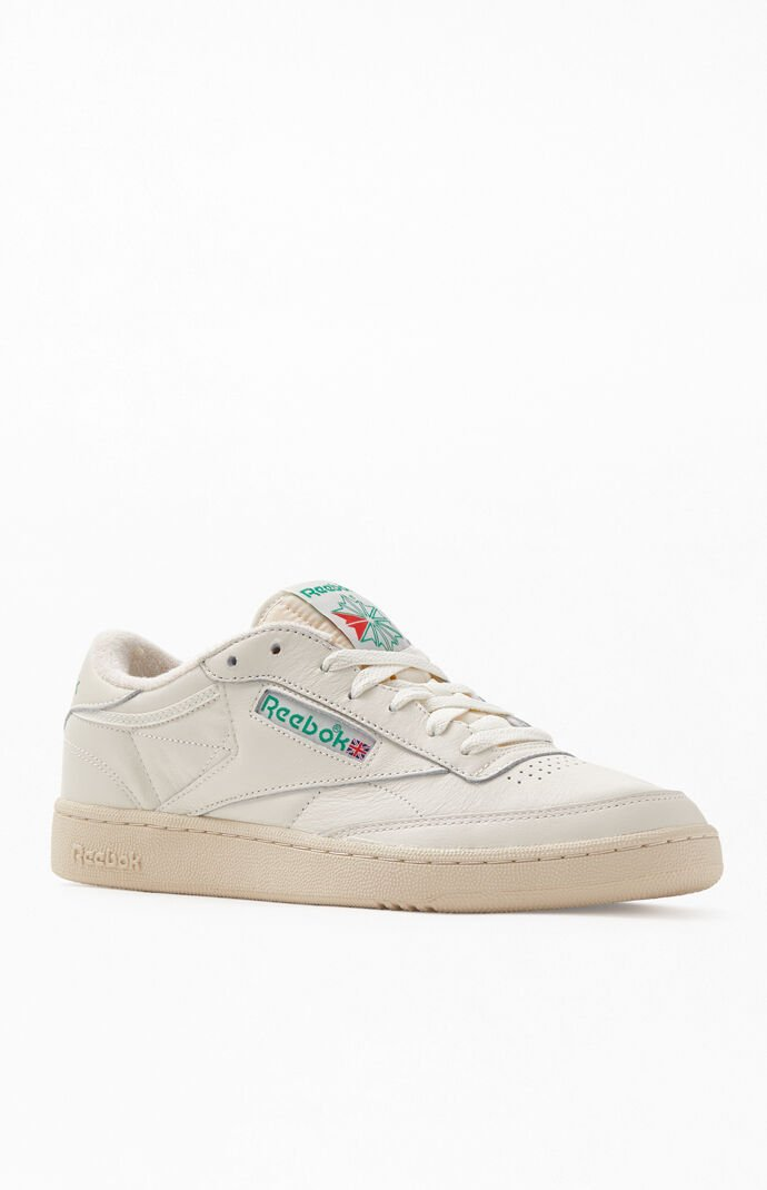 fuego Perdóneme Aja  Reebok Off White Club C 85 Vintage Shoes | PacSun