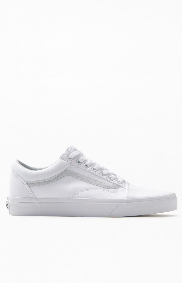 62e256acbb5 Vans White Old Skool Shoes at PacSun.com