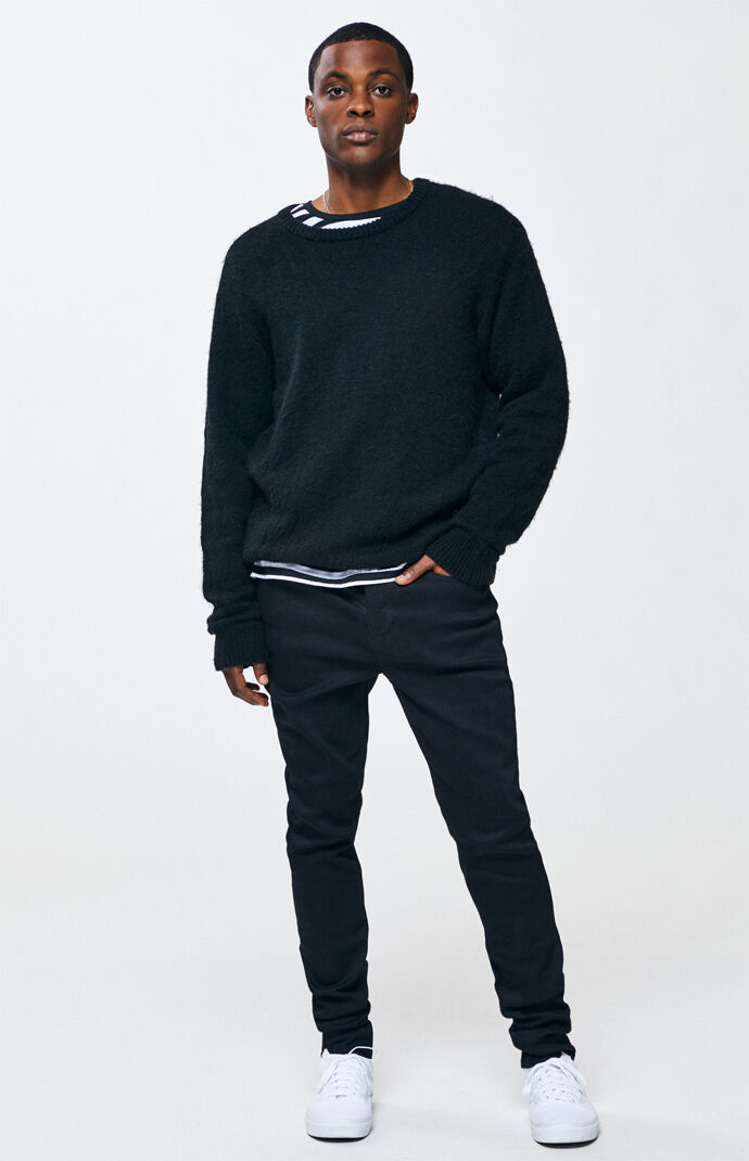 443c057634d3 Stacked Black Skinny Jeans | PacSun