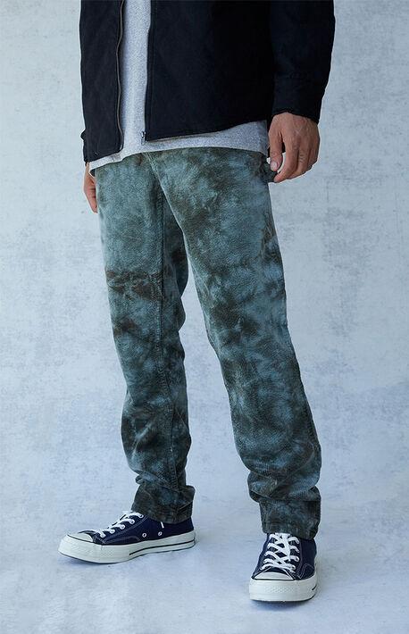 Olive Slim Carpenter Jeans