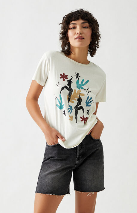 Flower Dancers Boyfriend T-Shirt