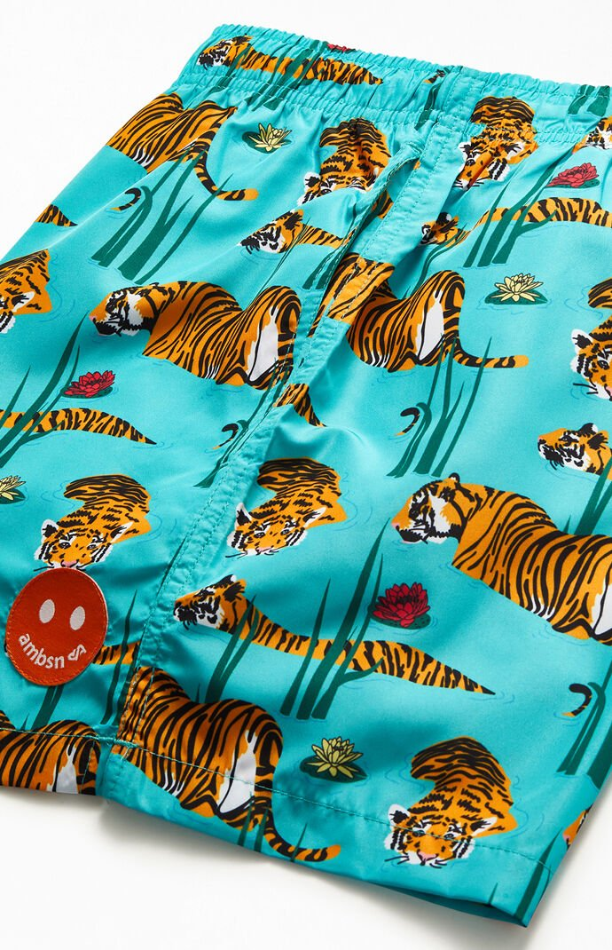 "Tigers 15"" Swim Trunks"