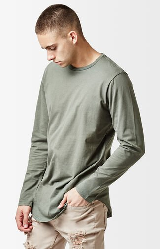Engel Long Sleeve Scallop T-Shirt