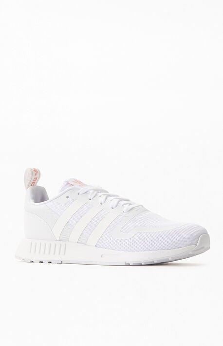 White Smooth Runner Sneakers