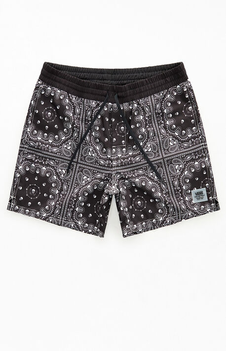 Paisley Primary Volley Shorts