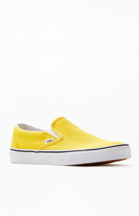 fbb4cbbc7 Yellow Classic Slip-On Shoes