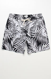 "Palmy Hand 17"" Swim Trunks"