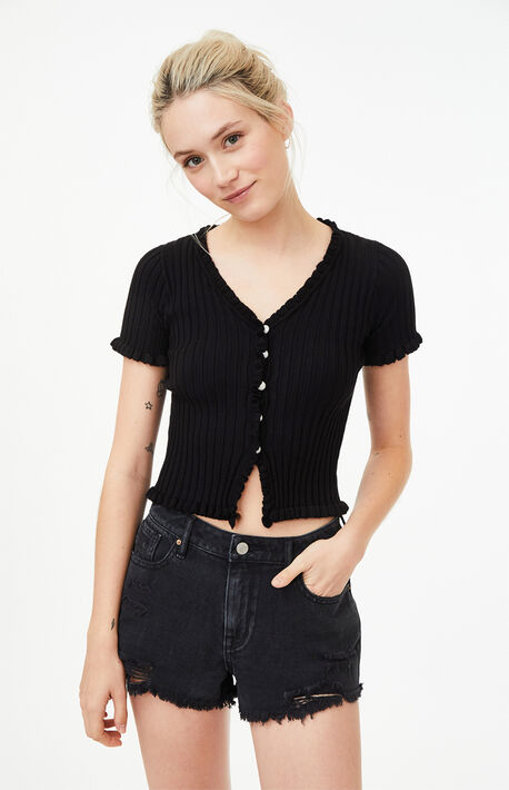Harry Knit Short Sleeve Top