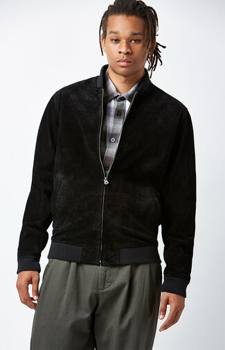 Clifton Suede Bomber Jacket