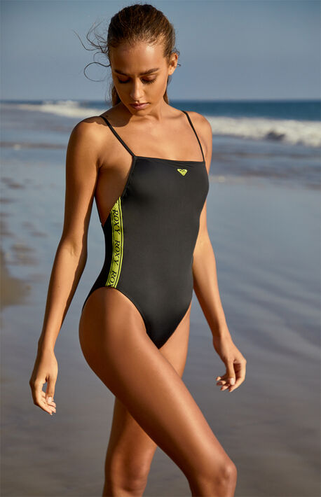 x Hailey Bieber & Kelia Moniz Sister High Cut One Piece Swimsuit