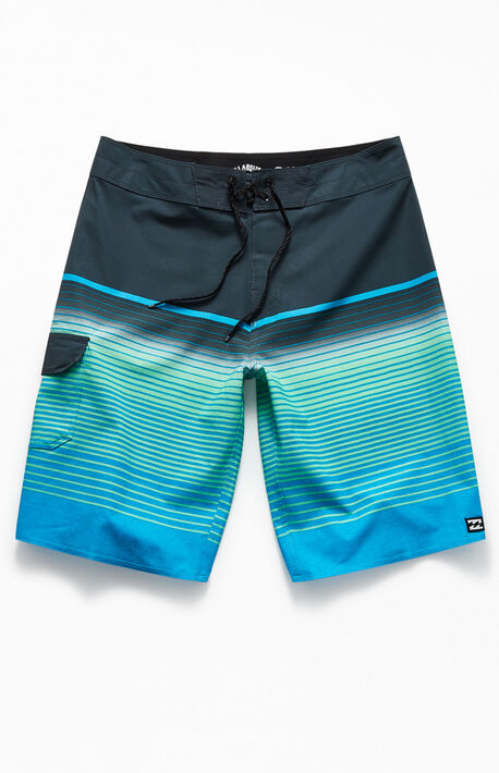 "All Day Stripe Pro 20"" Boardshorts"