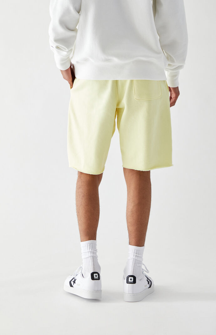 Reverse Weave Cutoff Sweat Shorts