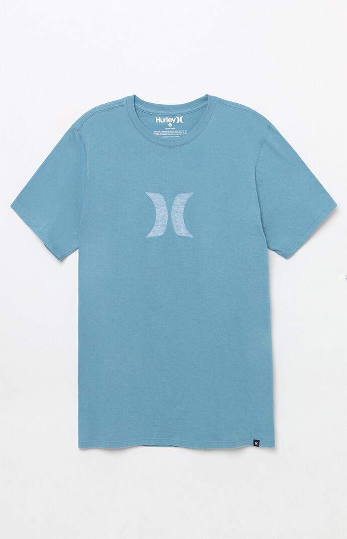 Hurley Icon Push Through T-Shirt - Blue 7013766
