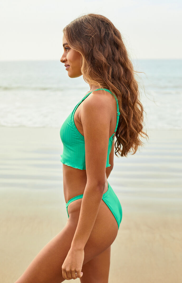 Lennon Cropped Bikini Top