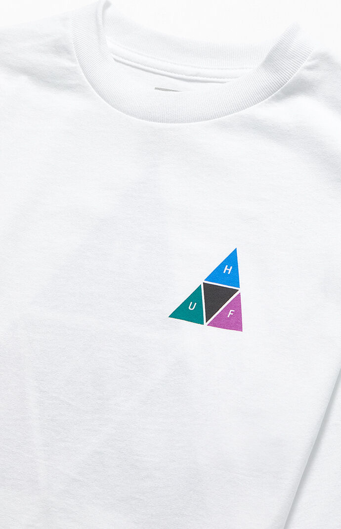 Triple Triangle Prism Long Sleeve T-Shirt