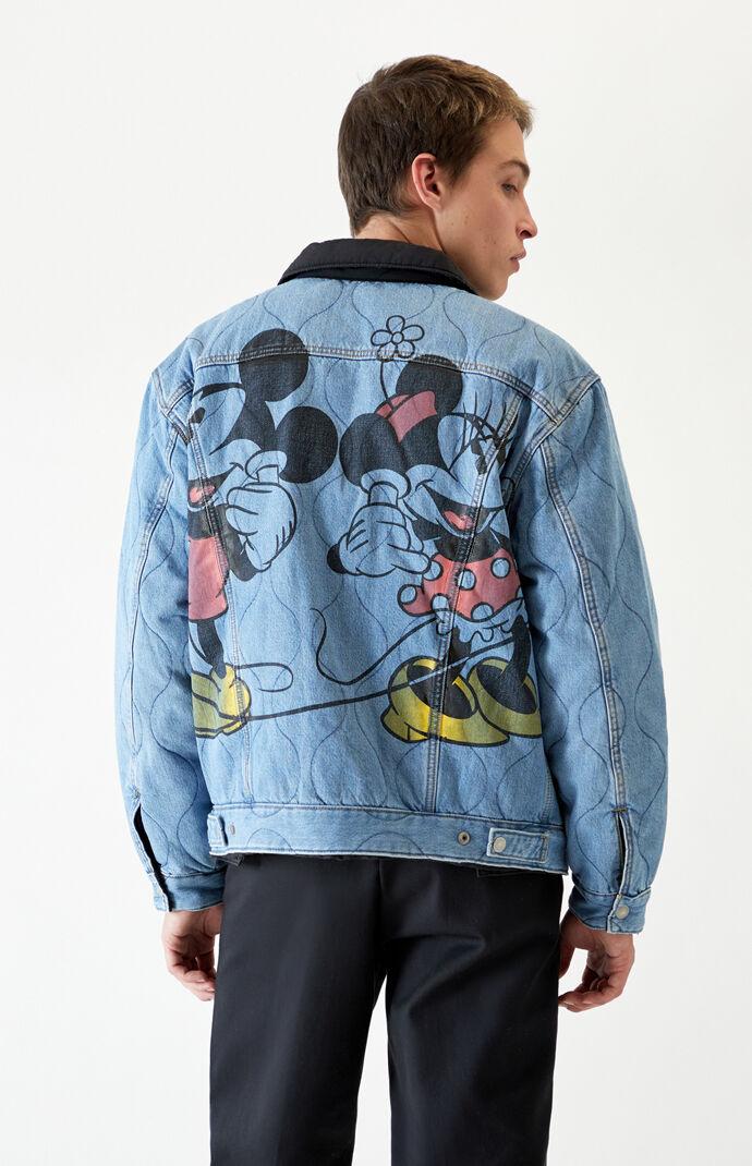 x Disney Vintage Sherpa Denim Jacket