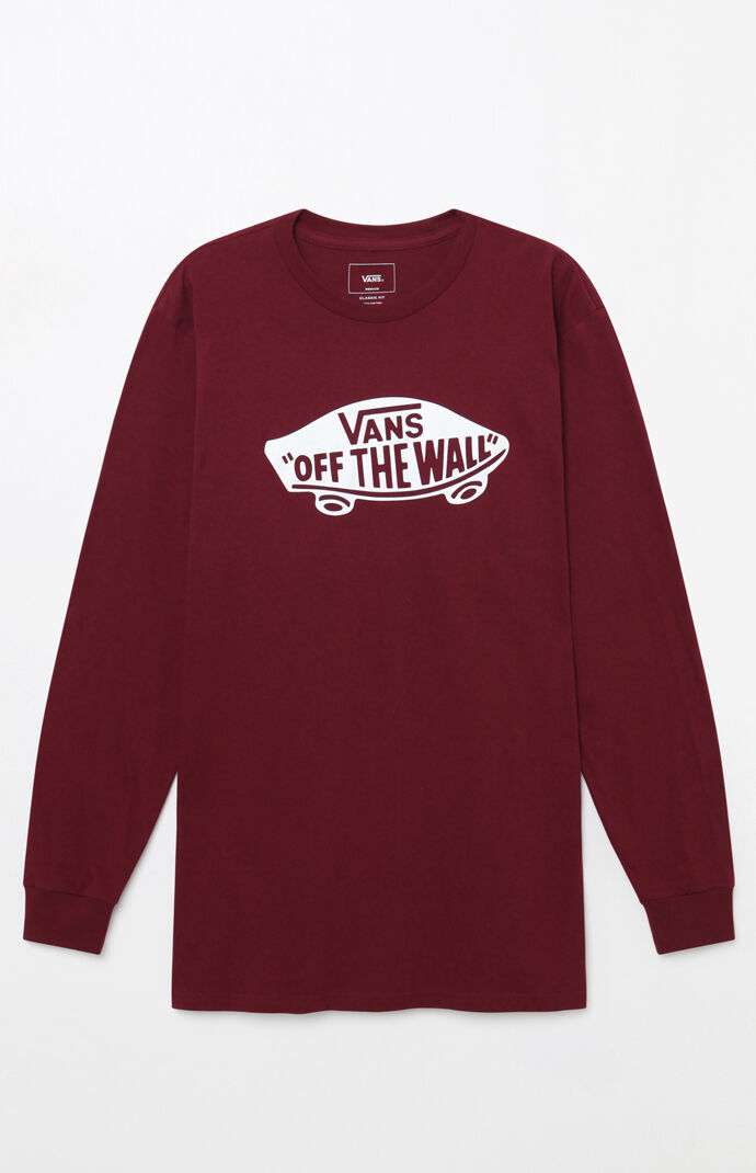 f68fb687186 Vans Off The Wall Long Sleeve T Shirt Pacsun