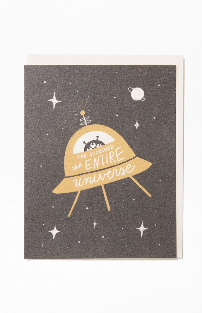 Universe Birthday Greeting Card