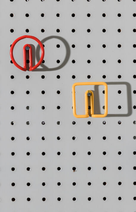 Red Circle Wall Hook