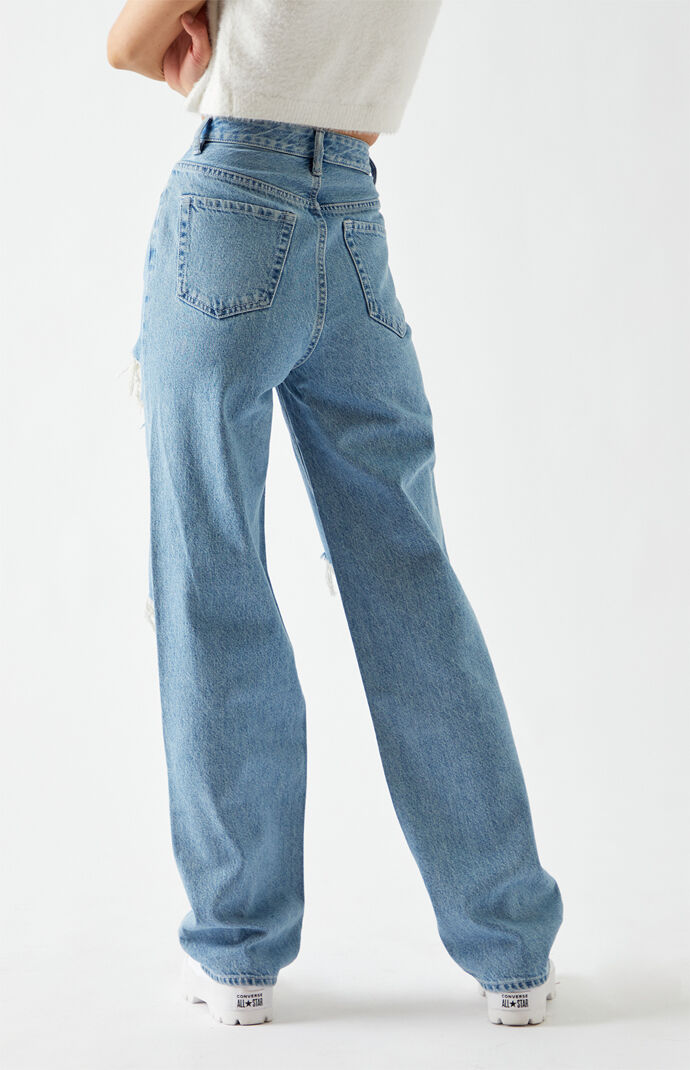 Medium Blue '90s Boyfriend Jeans
