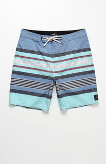 "Academy Striped 19"" Boardshorts"