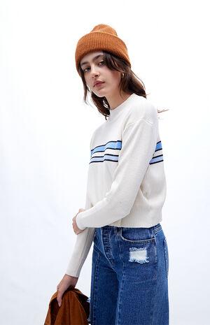 Fine Gauge Mock Neck Sweater
