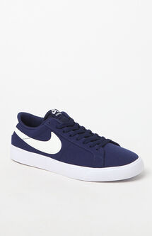 Blazer Vapor Canvas Blue & White Shoes