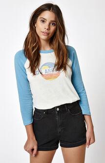 Los Angeles 3/4 Sleeve Raglan T-Shirt