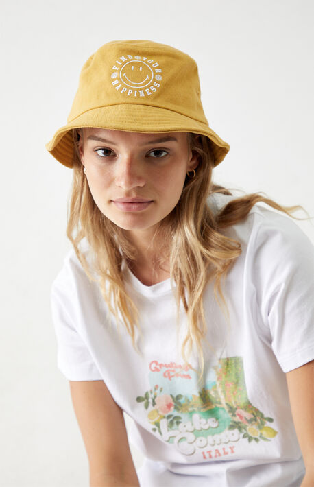 Happiness Recycled Bucket Hat