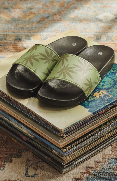 x Plantlife Slide Sandals