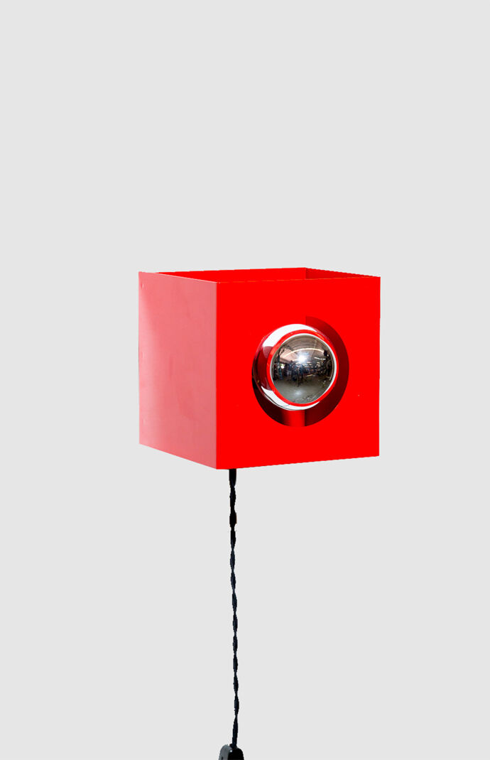 Red Cube Light