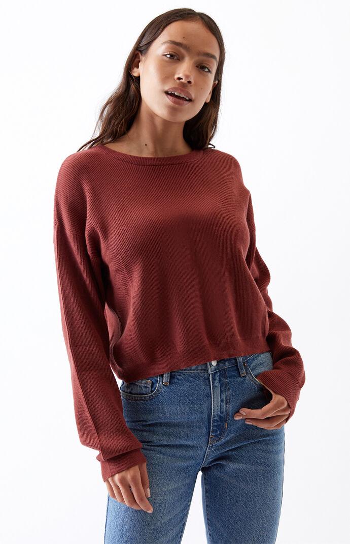 Fine Gauge Sweater