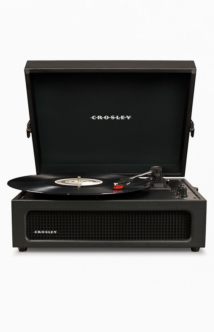 Black Voyager Record Player