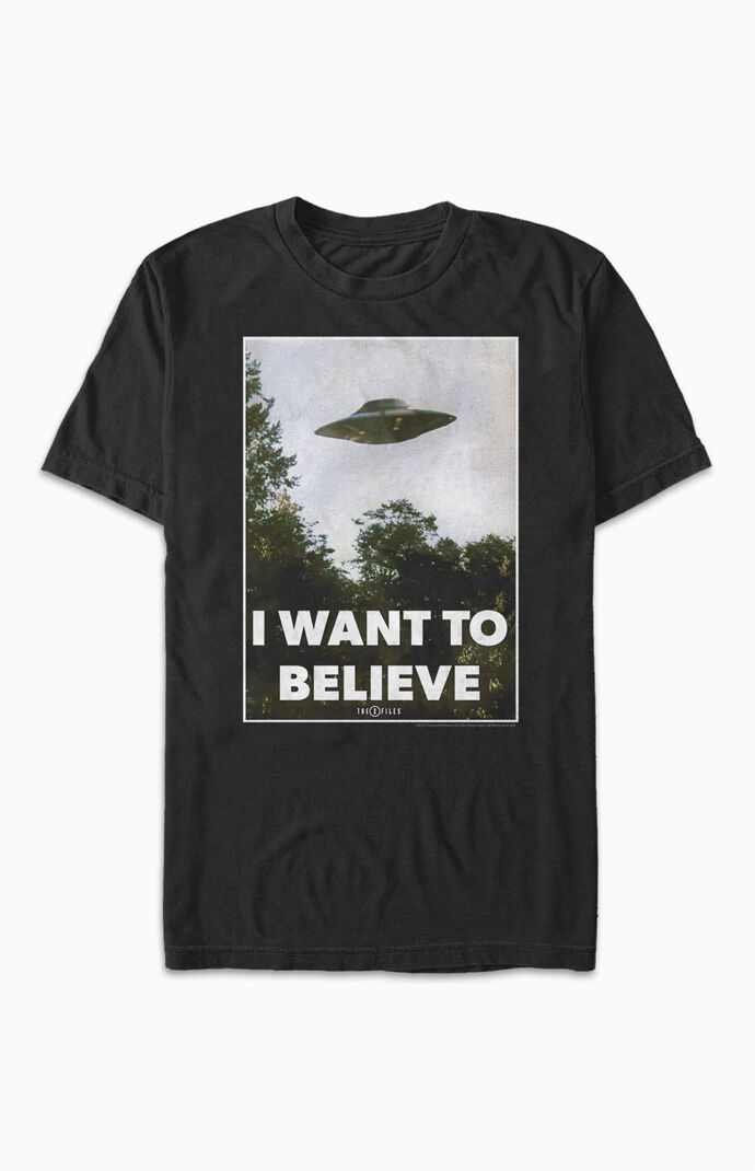 Believe Poster T-Shirt