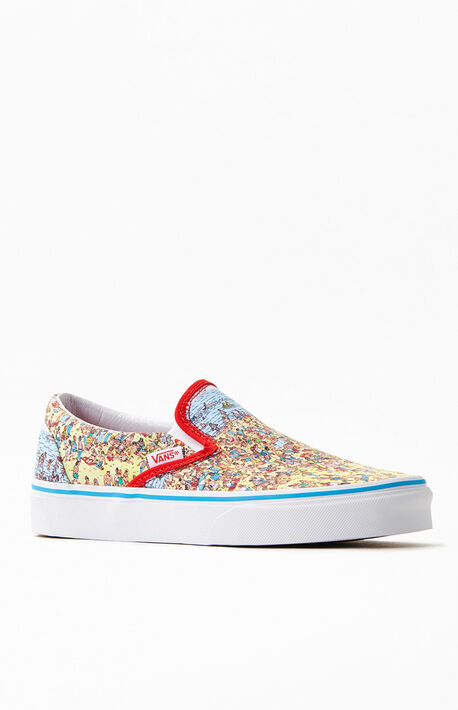 x Where's Waldo Slip-On Shoes