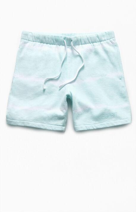 Tie-Dyed Sport Logo Shorts