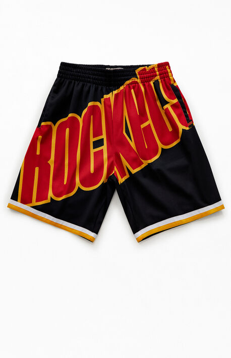 Big Face Rockets Basketball Shorts