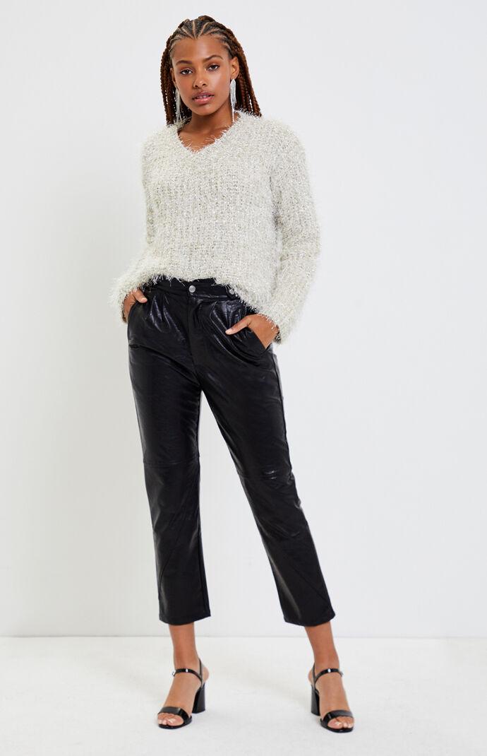 Farrah Fuzzy Sweater